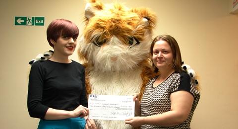 Nantwich-based The Cat community awards raises £620 for St Luke's Hospice