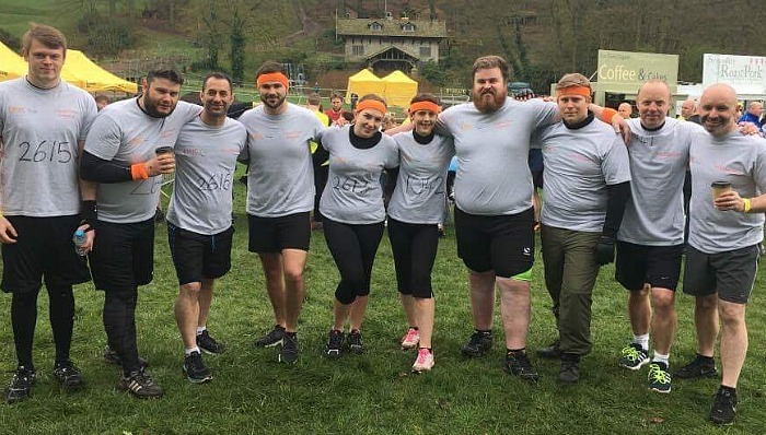 The EMaC Team at Mud Run
