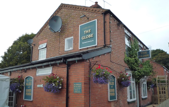 The Globe Pub in Nantwich