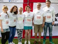 Willaston family honour daughter at CRY London walk