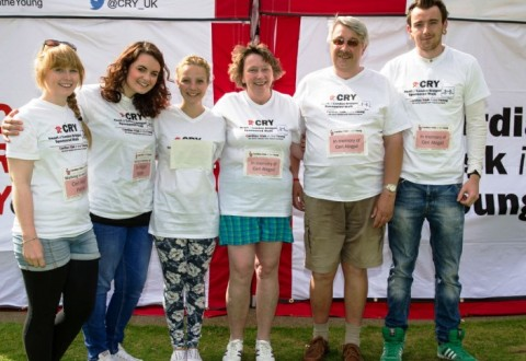 Wistaston family honour daughter at CRY London walk