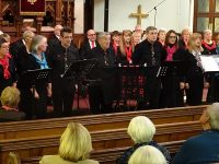 Wistaston Singers entertain Baptist Church crowd in Crewe