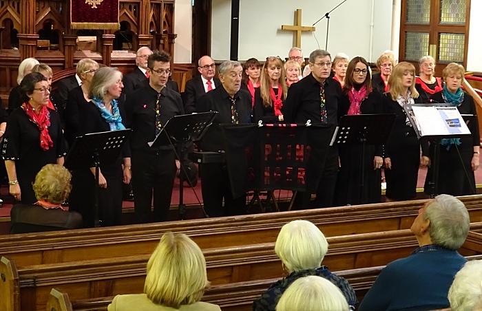 The Kipling Singers perform (1)