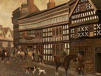 Jones, Herbert St John; The Old Crown Inn, Nantwich, Cheshire, c.1828; Nantwich Museum; http://www.artuk.org/artworks/the-old-crown-inn-nantwich-cheshire-c-1828-103390