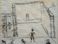 LS Lowry sketch set to fetch £10,000 at Nantwich auction