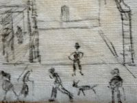 LS Lowry tissue sketch sells for £8,000 in Nantwich auction