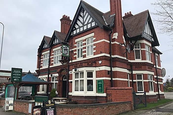 Festival - The Railway Hotel - frontage - venue of Cancer On The Rocks 2019