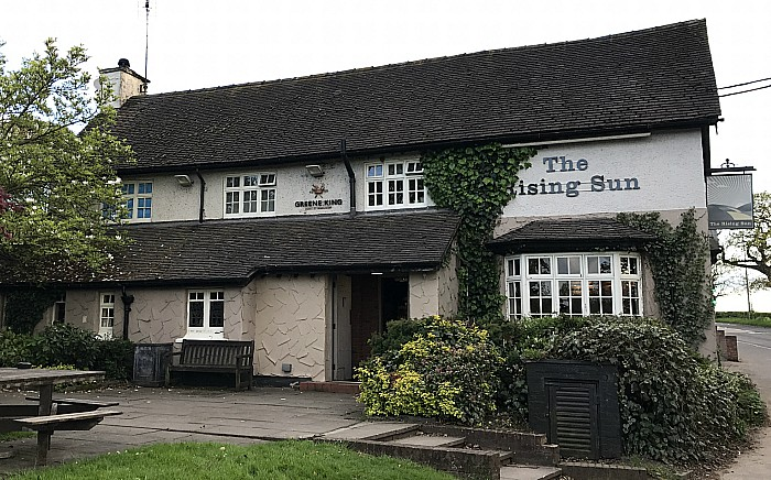 The Rising Sun - Middlewich Road - Wistaston