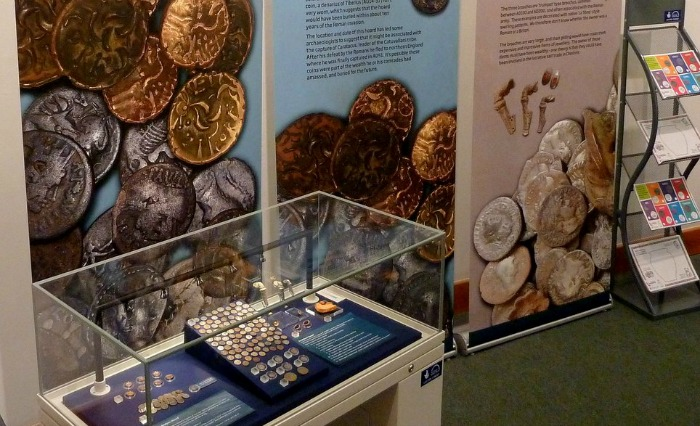 The Roman Treasures of Cheshire display at Nantwich Museum