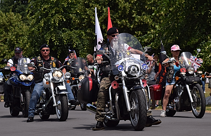 The Royal British Legion Riders Branch in the march (1)