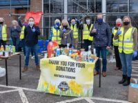 The Team - drop off and go Foodbank collection