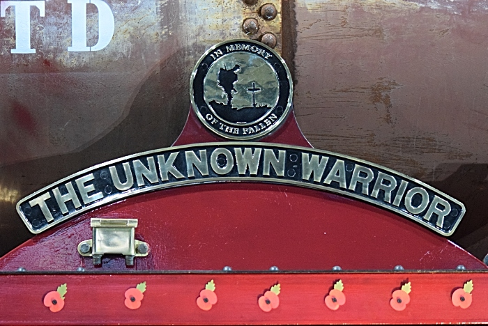The Unknown Warrior - the new crest - In memory of the fallen (1)