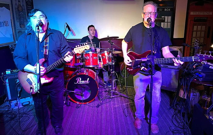 Jazz and Blues - The White Horse house band perform at The White Horse open mic night