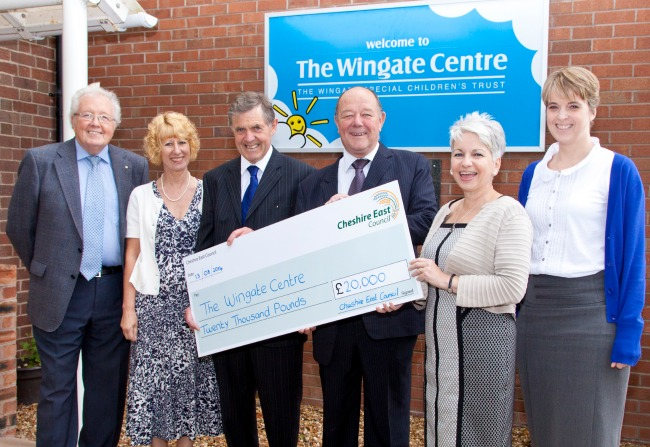 The Wingate Centre funding from Cheshire East