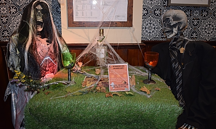 The Woodside - adult Halloween party