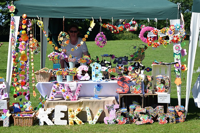 The best dressed stall winner was Gill Stubbs from Crewe with her craft stall