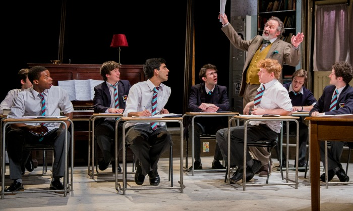 The cast of The History Boys. Photo Credit Matt Martin Photography  (6)