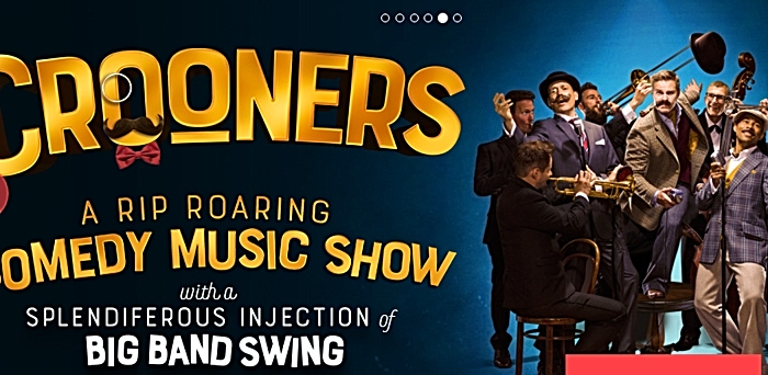 The crooners - pic courtesy of Crewe Lyceum