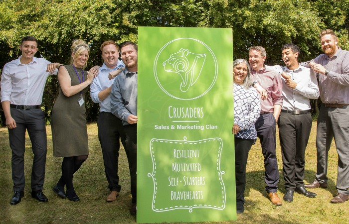 The team at Crystal Legal Services look forward to welcoming new recruits to their clans - 2