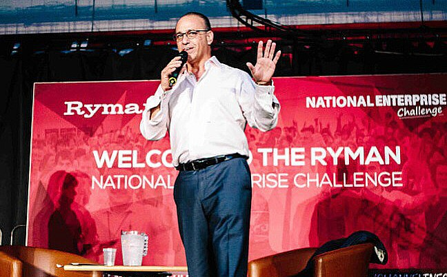 Malbank students - Theo Paphitis and Ryman enterprise challenge