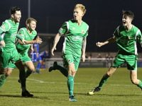 Steve Jones nets last minute winner as Nantwich Town beat Marine 3-2