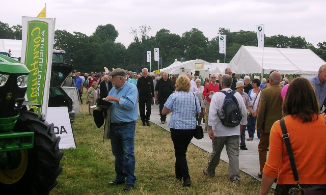 Thousands enjoyed the Nantwich Agricultural Show 2014 in dry weather
