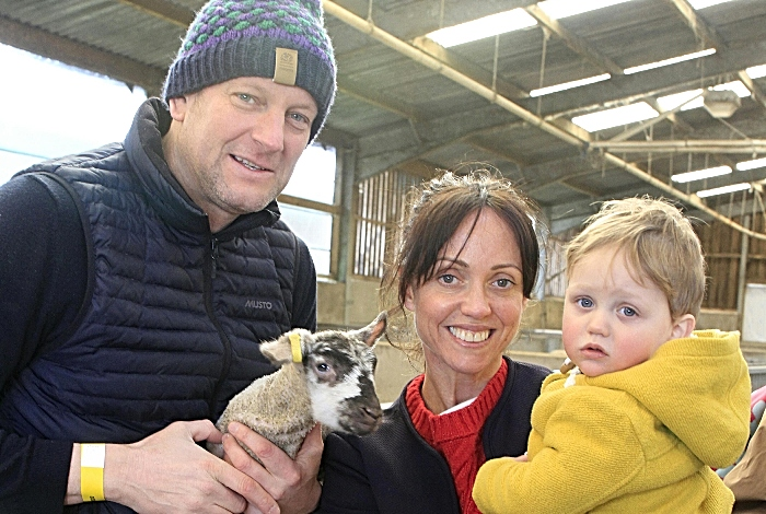 Tim Bishop, Clare Platt, Charlie Bishop 18 months (1)