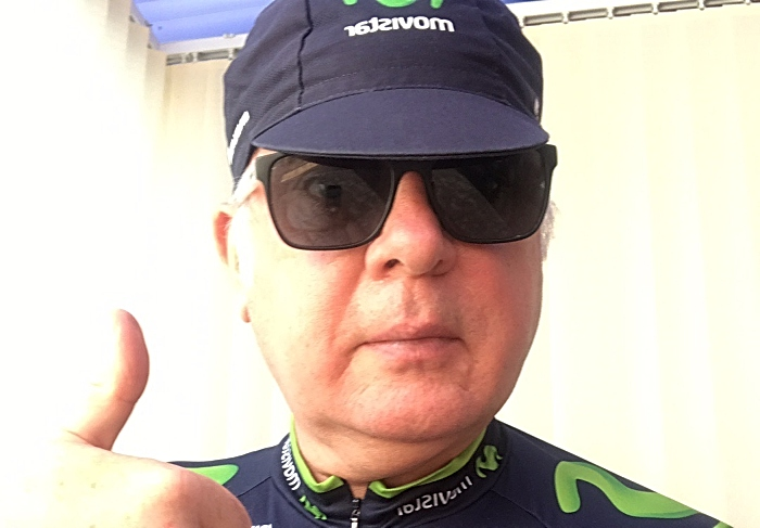 Tim Bowker - cycle challenge for NHS