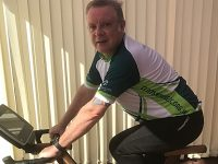 Nantwich businessman's indoor cycle ride for NHS centres