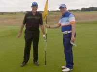 Nantwich man celebrates hole in one at Open venue Royal Lytham
