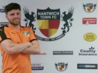 Nantwich Town sign striker Theo Stair and Tim Sanders