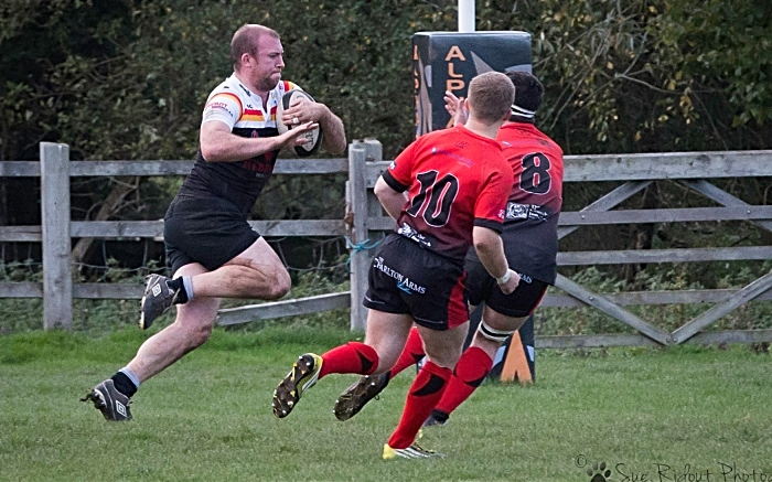 Toby Ward of Crewe & Nantwich v Ludlow