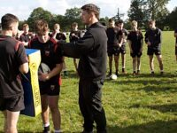 England's Curry twins revisit Crewe & Nantwich RUFC roots