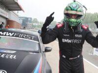Tarporley driver Oliphant powers to first BTCC victory of season