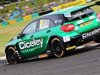 Tarporley touring car racer Oliphant enjoys points at Croft ahead of break
