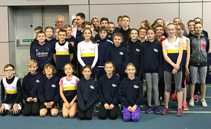 Tom Pink Crewe and Nantwich athletes U11s and U13s