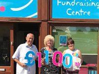 Minshull Vernon family stage hospice fundraiser in memory of granddaughter
