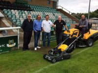 Nantwich Town offered free equipment by Total Tools after club break-in