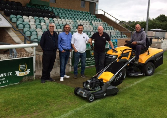 Total Tools lends Nantwich Town replacement equipment