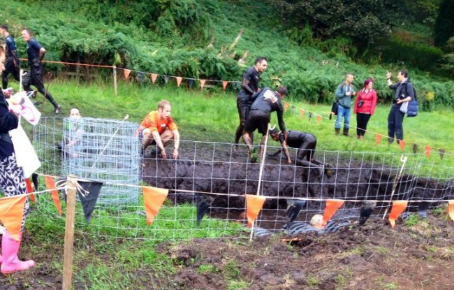 Tough Mudder by peugeot workers