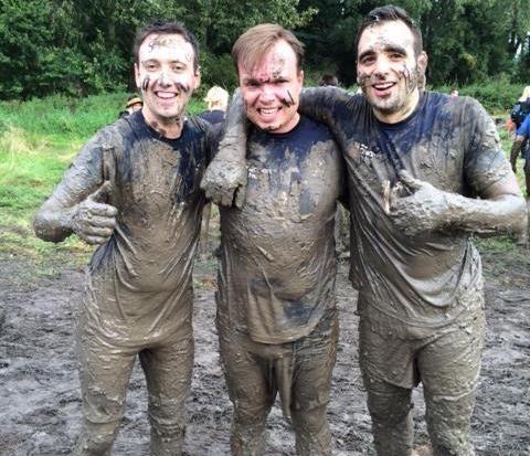 Tough Mudder race at Cholmondeley Castle