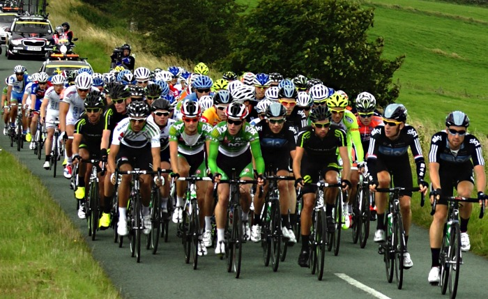Tour of Britain 2012, pic courtesy of Simon Harrod under creative commons licence