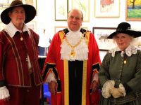 Mayor opens new Cheshire Civil War gallery at Nantwich Museum