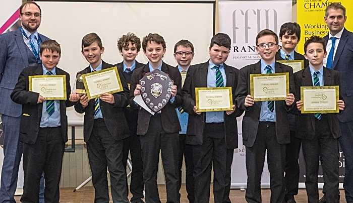 Brine leas winners of stock market trading challenge competition