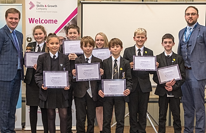 Shavington Academy runners up in trading challenge