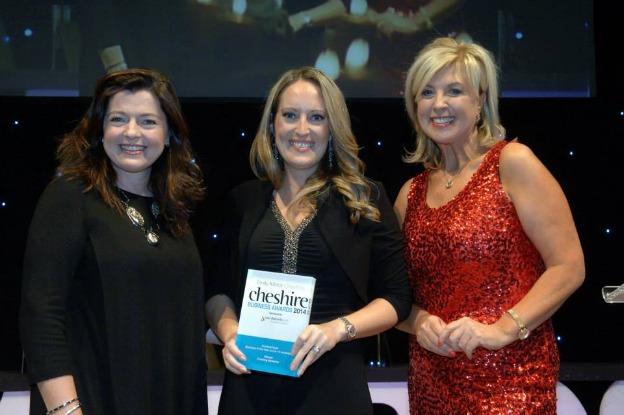 Training Bytesize winners at Cheshire Business Awards