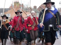 Troops march on Nantwich as thousands enjoy Holly Holy Day event
