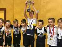 Crewe and Nantwich athletes scoop trophies and medals at indoor final
