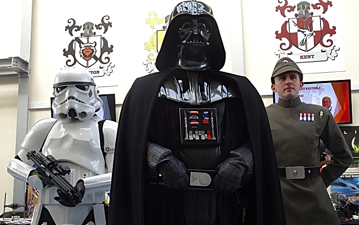 UK Garrison costume group - Stormtrooper - Darth Vader - a Commander (1)