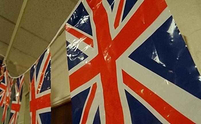 Union Jack bunting - VE Day